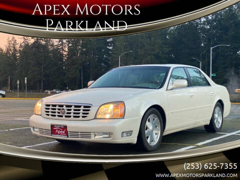 2003 Cadillac DeVille for sale at Apex Motors Parkland in Tacoma WA