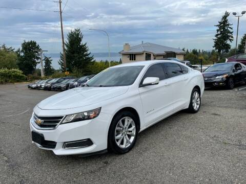 2017 Chevrolet Impala for sale at KARMA AUTO SALES in Federal Way WA
