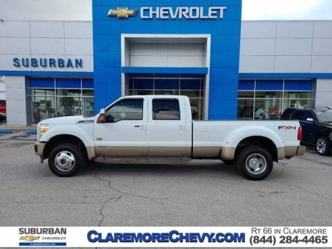 2011 Ford F-450 Super Duty for sale at Suburban Chevrolet in Claremore OK