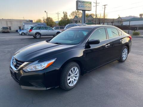 2017 Nissan Altima for sale at New Start Auto in Richardson TX