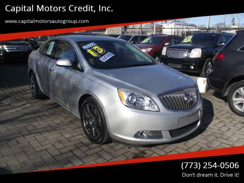 2013 Buick Verano for sale at Capital Motors Credit, Inc. in Chicago IL