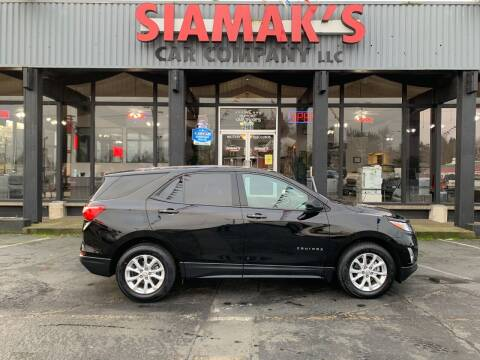 2018 Chevrolet Equinox for sale at Siamak's Car Company llc in Salem OR