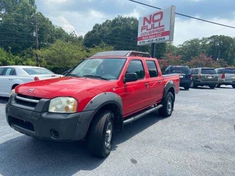 2002 Nissan Frontier for sale at No Full Coverage Auto Sales in Austell GA