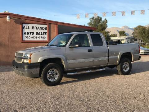 2004 Chevrolet Silverado 2500HD for sale at All Brands Auto Sales in Tucson AZ