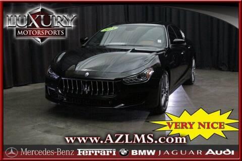 2018 Maserati Ghibli for sale at Luxury Motorsports in Phoenix AZ
