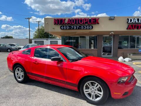 2011 Ford Mustang for sale at NTX Autoplex in Garland TX
