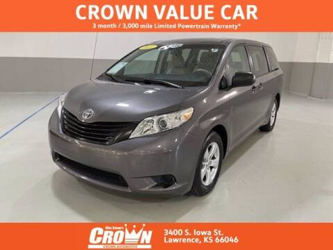 2011 Toyota Sienna for sale at Crown Automotive of Lawrence Kansas in Lawrence KS