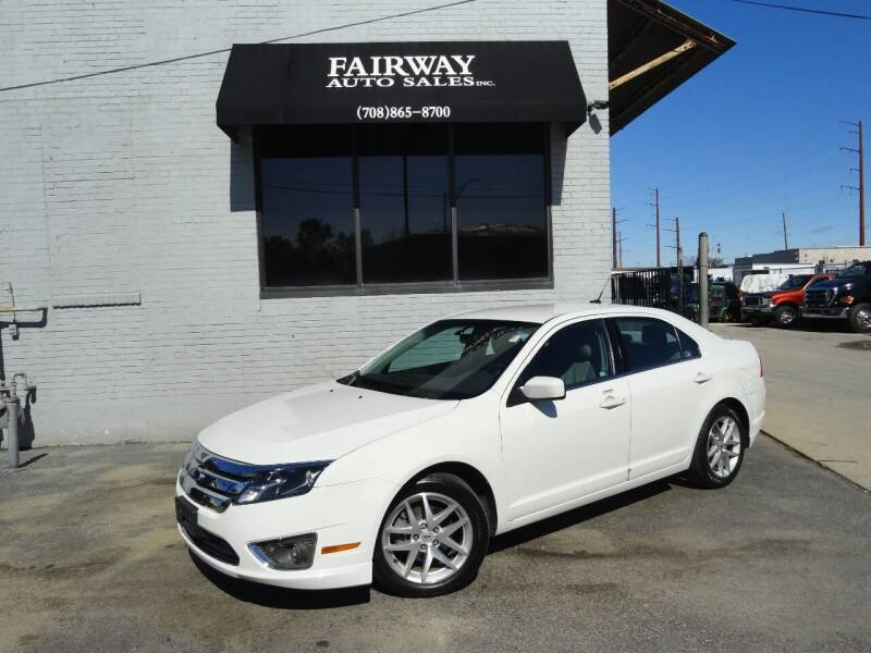 2012 Ford Fusion for sale at FAIRWAY AUTO SALES, INC. in Melrose Park IL
