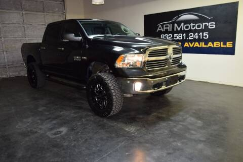 2016 RAM Ram Pickup 1500 for sale at ARI Motors in Houston TX
