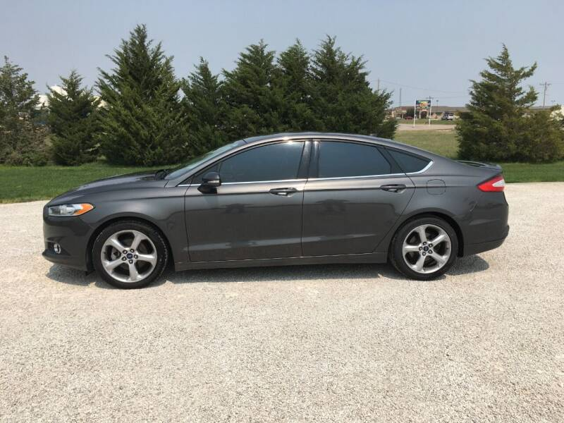 2015 Ford Fusion for sale at B K Auto Inc. in Scott City KS