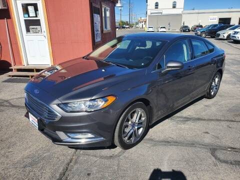 2017 Ford Fusion for sale at Curtis Auto Sales LLC in Orem UT