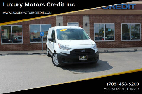 2019 Ford Transit Connect Cargo for sale at Luxury Motors Credit Inc in Bridgeview IL