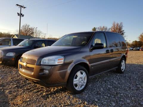 2008 Chevrolet Uplander for sale at Ridgeway's Auto Sales - Buy Here Pay Here in West Frankfort IL