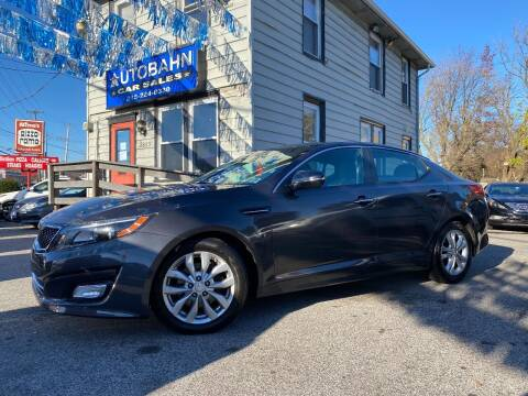 2015 Kia Optima for sale at Autobahn Motor Group in Willow Grove PA