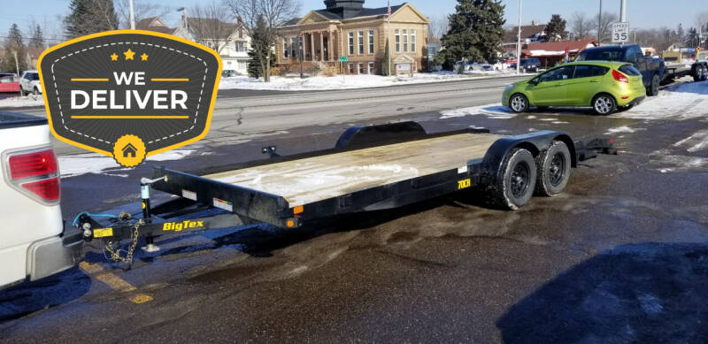 2021 Big Tex 20' CAR TRAILER 70CH for sale at Tower Motors in Brainerd MN