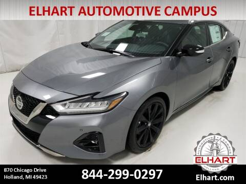 2019 Nissan Maxima for sale at Elhart Automotive Campus in Holland MI