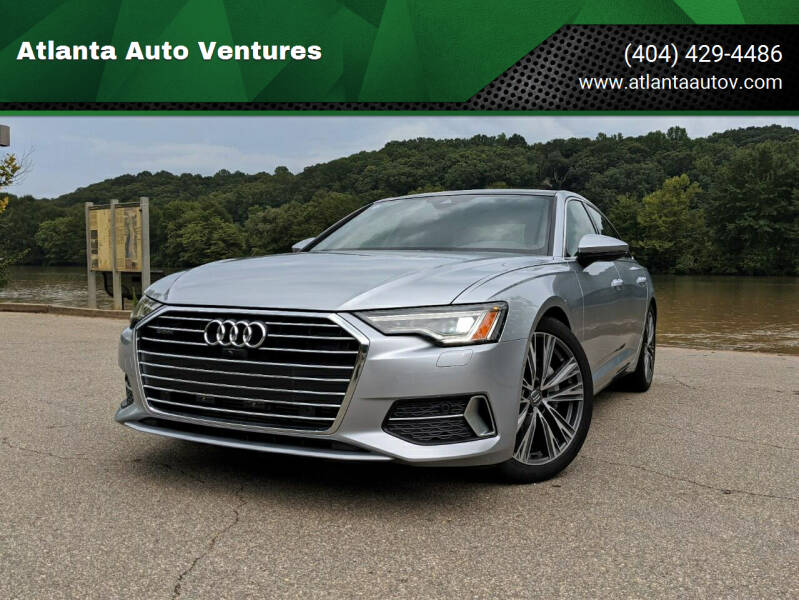 2020 Audi A6 for sale at Atlanta Auto Ventures in Roswell GA