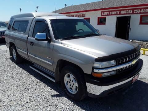 2002 Chevrolet Silverado 1500 for sale at Sarpy County Motors in Springfield NE
