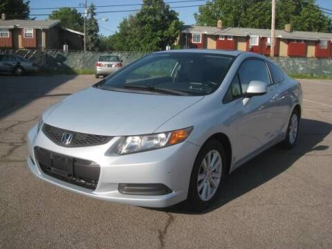 2012 Honda Civic for sale at ELITE AUTOMOTIVE in Euclid OH