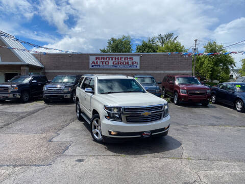 2015 Chevrolet Tahoe for sale at Brothers Auto Group in Youngstown OH