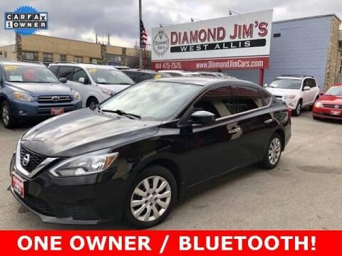 2017 Nissan Sentra for sale at Diamond Jim's West Allis in West Allis WI