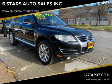 2008 Volkswagen Touareg 2 for sale at 6 STARS AUTO SALES INC in Chicago IL