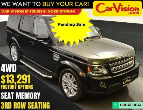 2015 Land Rover LR4 for sale at Car Vision Mitsubishi Norristown in Norristown PA