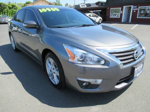 2015 Nissan Altima for sale at Tonys Toys and Trucks in Santa Rosa CA