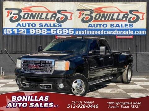 2013 GMC Sierra 3500HD for sale at Bonillas Auto Sales in Austin TX