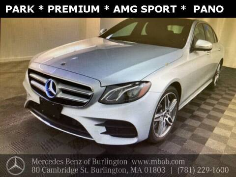 2020 Mercedes-Benz E-Class for sale at Mercedes Benz of Burlington in Burlington MA