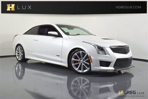 2016 Cadillac ATS-V for sale at HGREG LUX EXCLUSIVE MOTORCARS in Pompano Beach FL