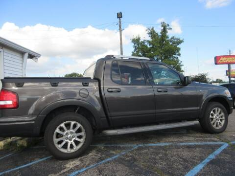 2007 Ford Explorer Sport Trac for sale at Midway Cars LLC in Indianapolis IN