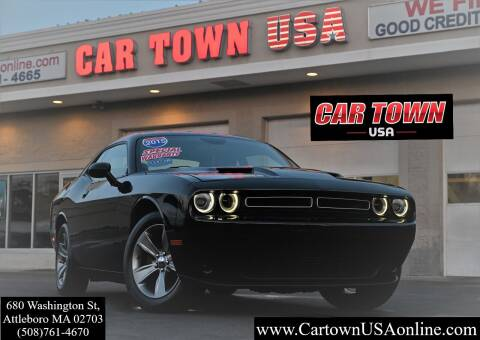 2015 Dodge Challenger for sale at Car Town USA in Attleboro MA