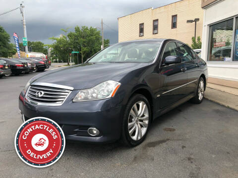 2009 Infiniti M35 for sale at ADAM AUTO AGENCY in Rensselaer NY