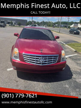 2008 Cadillac DTS for sale at Memphis Finest Auto, LLC in Memphis TN
