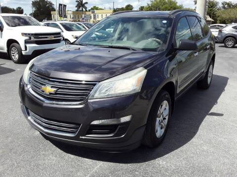 2014 Chevrolet Traverse for sale at YOUR BEST DRIVE in Oakland Park FL