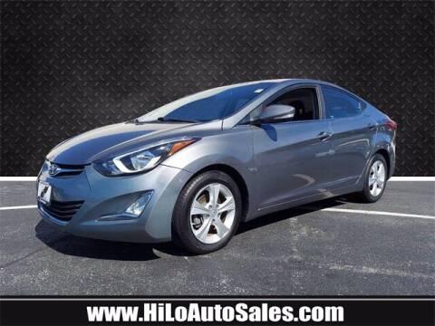 2016 Hyundai Elantra for sale at Hi-Lo Auto Sales in Frederick MD