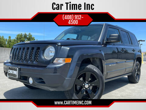 2016 Jeep Patriot for sale at Car Time Inc in San Jose CA