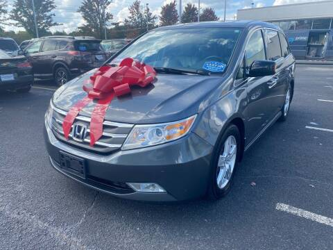 2013 Honda Odyssey for sale at Charlotte Auto Group, Inc in Monroe NC