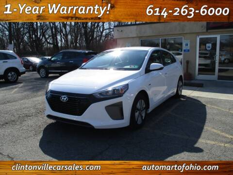 2017 Hyundai Ioniq Hybrid for sale at Clintonville Car Sales - AutoMart of Ohio in Columbus OH