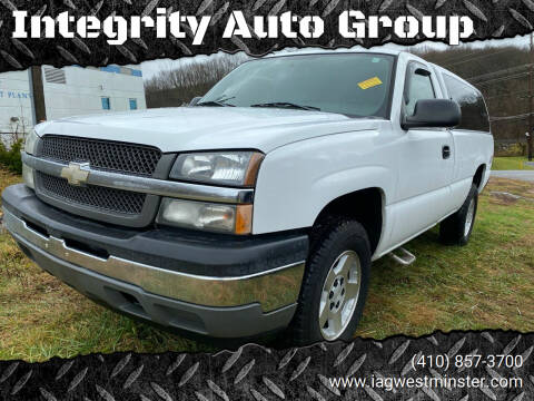 2005 Chevrolet Silverado 1500 for sale at Integrity Auto Group in Westminister MD