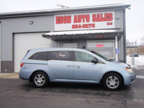 2012 Honda Odyssey for sale at ENON AUTO SALES in Enon OH