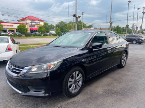 2014 Honda Accord for sale at Martins Auto Sales in Shelbyville KY