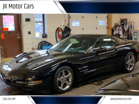 2000 Chevrolet Corvette for sale at JK Motor Cars in Pittsburgh PA