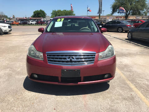 2007 Infiniti M35 for sale at SOUTHWAY MOTORS in Houston TX