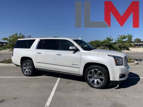 2017 GMC Yukon XL for sale at INDY LUXURY MOTORSPORTS in Fishers IN