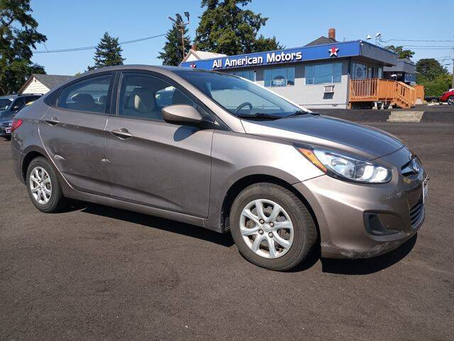 2013 Hyundai Accent for sale at All American Motors in Tacoma WA