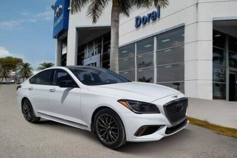 2019 Genesis G80 for sale at DORAL HYUNDAI in Doral FL