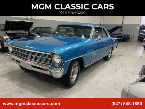 1967 Chevrolet Nova for sale at MGM CLASSIC CARS in Addison, IL