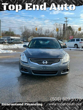 2010 Nissan Altima for sale at Top End Auto in North Atteboro MA